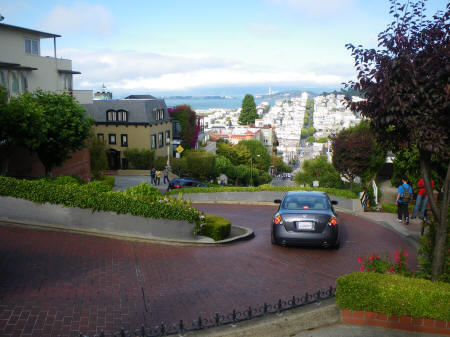 Crookedest Street in the World, San Francisco