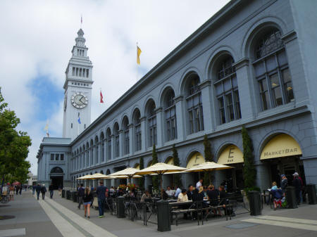 Ferry Building in San Francisco CA