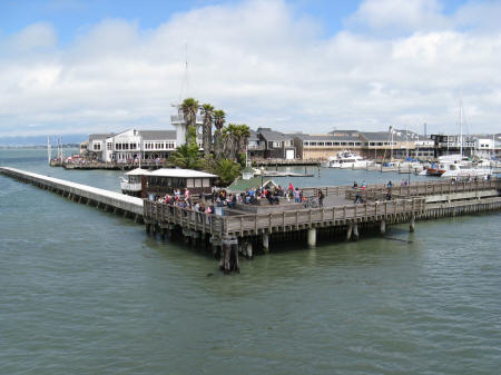 Fisherman's Wharf in San Francisco California