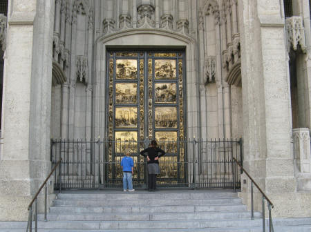 Ghiberti Doors in San Francisco California