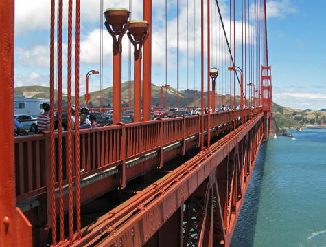 Golden Gate Bridge - San Francisco Landmarks