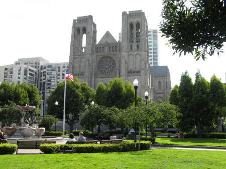 Grace Cathedral in San Francisco California