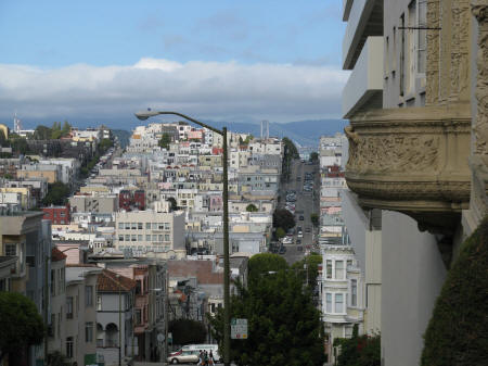 Nob Hill District of San Francisco California
