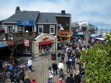 Pier 39 in San Francisco California