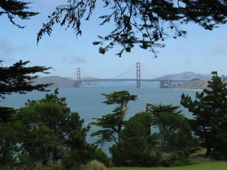 Presidio District of San Francisco California USA