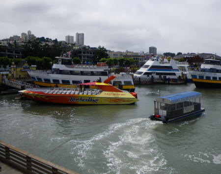 Boat Tours of the San Francisco Bay