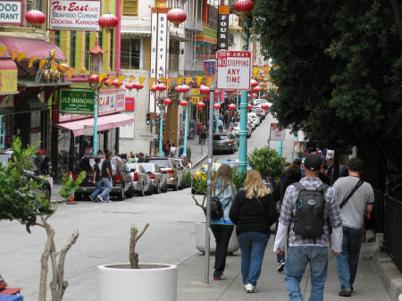 China Town District of San Francisco California